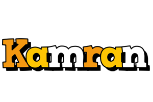 Kamran cartoon logo