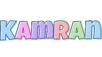 Kamran pastel logo