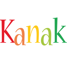 Kanak birthday logo