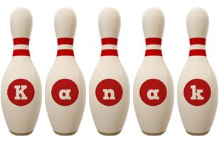 Kanak bowling-pin logo