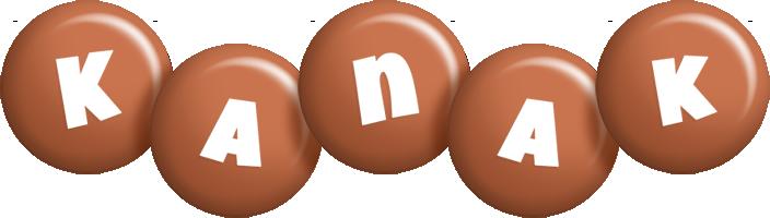 Kanak candy-brown logo