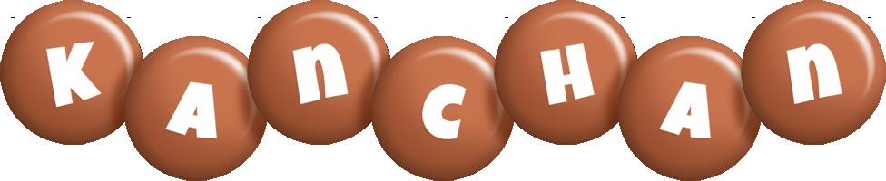 Kanchan candy-brown logo