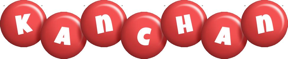 Kanchan candy-red logo