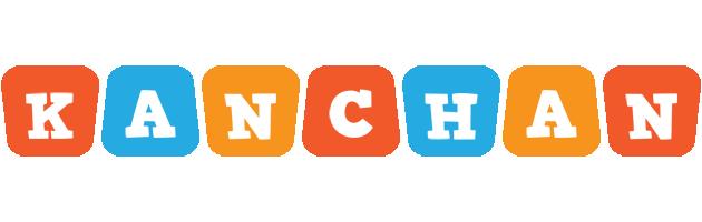 Kanchan comics logo