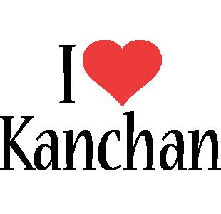 Kanchan i-love logo