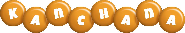 Kanchana candy-orange logo