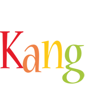 Kang birthday logo