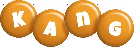 Kang candy-orange logo