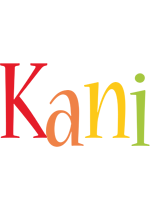 Kani birthday logo