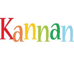 Kannan birthday logo