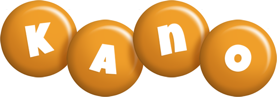 Kano candy-orange logo