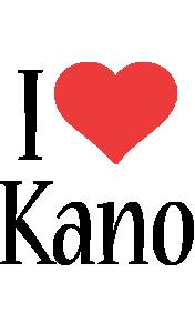 Kano i-love logo