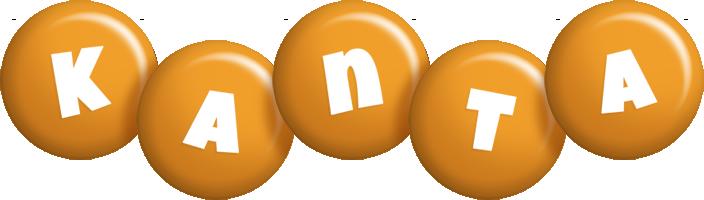 Kanta candy-orange logo