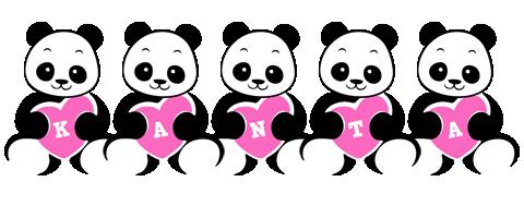 Kanta love-panda logo