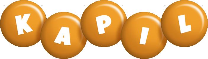 Kapil candy-orange logo