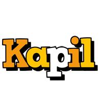 Kapil cartoon logo
