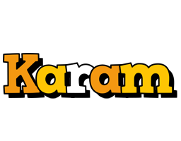 Karam cartoon logo
