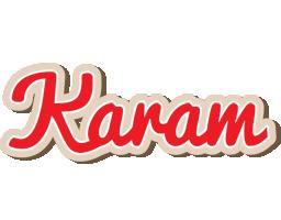 Karam chocolate logo