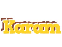 Karam hotcup logo