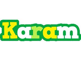 Karam soccer logo