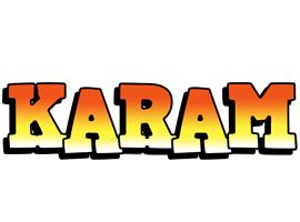 Karam sunset logo