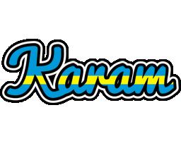 Karam sweden logo