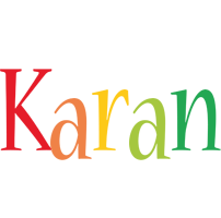 Karan birthday logo