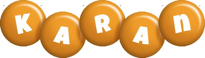 Karan candy-orange logo