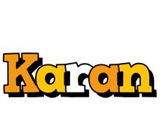 Karan cartoon logo