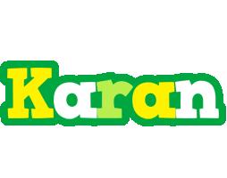 Karan soccer logo
