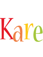 Kare birthday logo