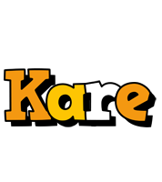 Kare cartoon logo