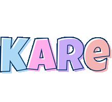 Kare pastel logo