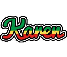Karen african logo