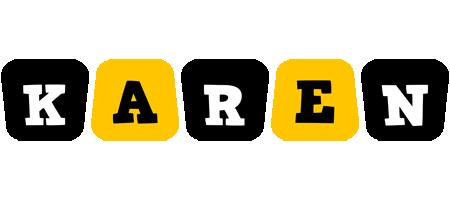 Karen boots logo