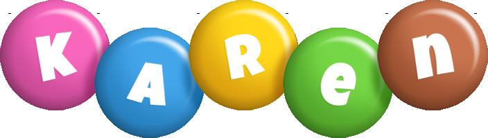 Karen candy logo