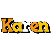 Karen cartoon logo
