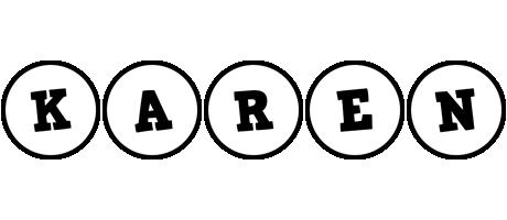 Karen handy logo