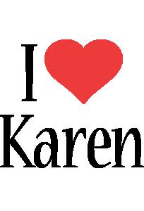 Karen i-love logo