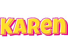 Karen kaboom logo