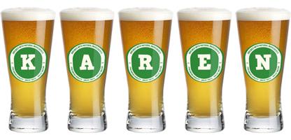Karen lager logo