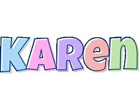 Karen pastel logo