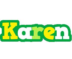 Karen soccer logo
