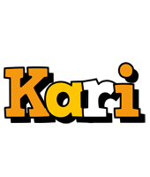 Kari cartoon logo
