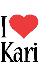 Kari i-love logo