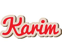 Karim chocolate logo