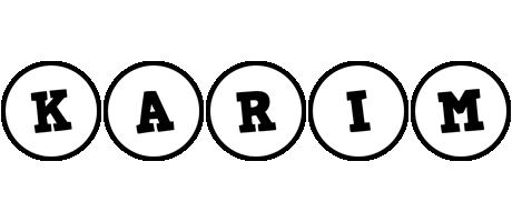 Karim handy logo