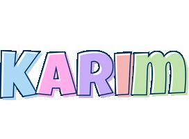 Karim pastel logo