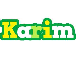 Karim soccer logo