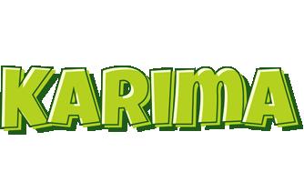 Karima summer logo